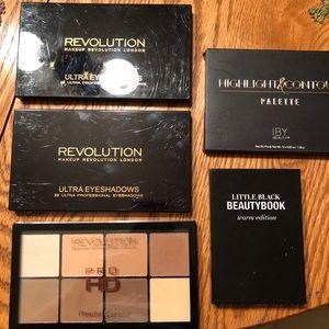 Five Makeup Palettes—Makeup Revolution